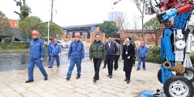 南昌市文广旅游局领导一行考察方大特钢景区建设工作
